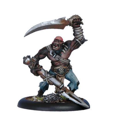 Warmachine: Cryx - Black Orgun Boarding Pirate