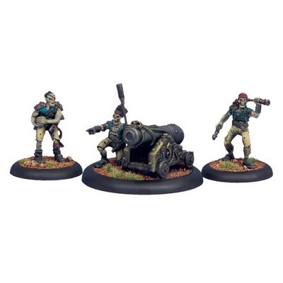 Warmachine: Cryx - Revenant Cannon Crew (3)