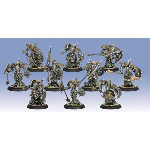 Warmachine: Cryx - Bane Knight Unit Box (10)