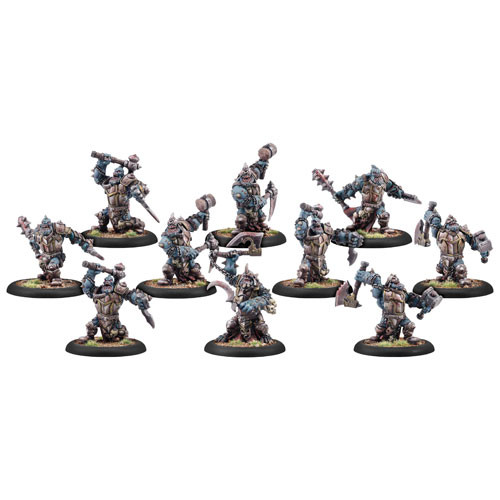 Warmachine: Cryx - Bloodgorgers Blighted Trollkin Unit (10)