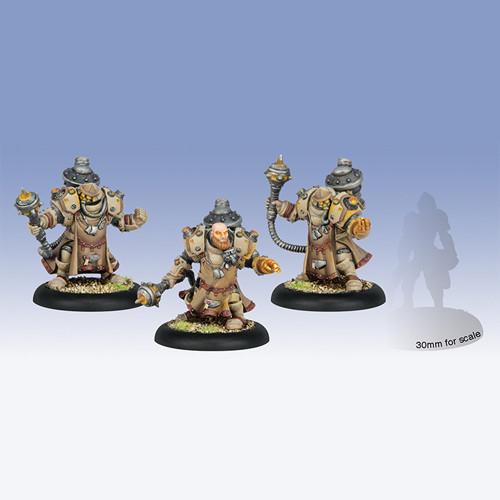 Warmachine: Mercenaries - Tactical Arcanist Corps, Rhulic Unit (3)