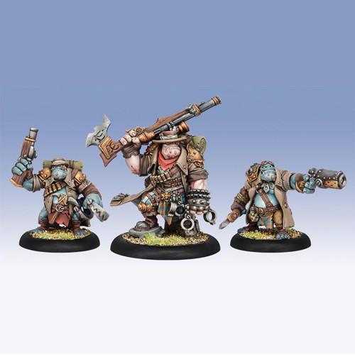 Hordes: Trollbloods - The Hunters Grim, Epic Warlock Unit (3