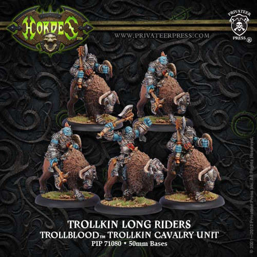 Hordes: Trollbloods - Long Rider Unit Box (5)