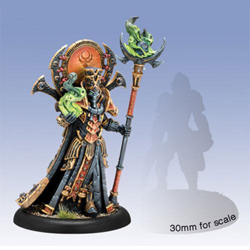 Hordes: Skorne - Zaal, the Ancestral Advocate Epic Warlock (1