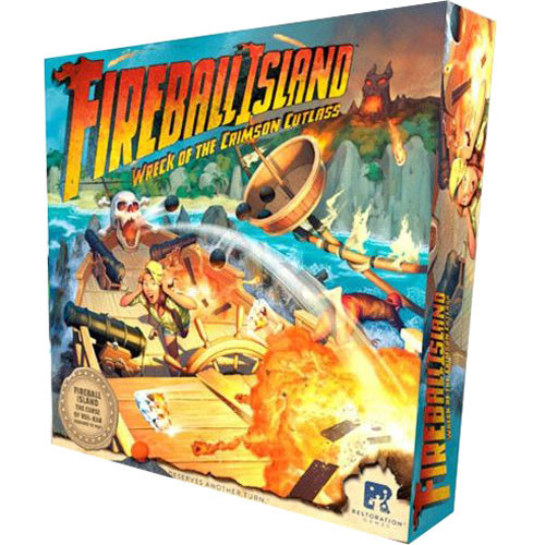 Fireball Island: Wreck of the Crimson Cutlass Expansion | Board