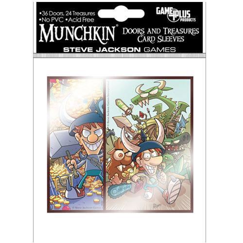 sc 1 st  Miniature Market & Munchkin: Card Sleeves - Door \u0026 Treasure Cards