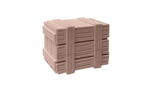 tiny terrain small wooden crate - Small Wooden Crates