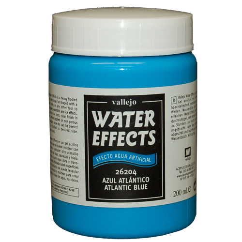 Vallejo Water Effects: Atlantic Blue (200ml)