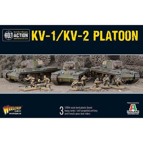 Bolt Action: KV-1/KV-2 Platoon | Table Top Miniatures