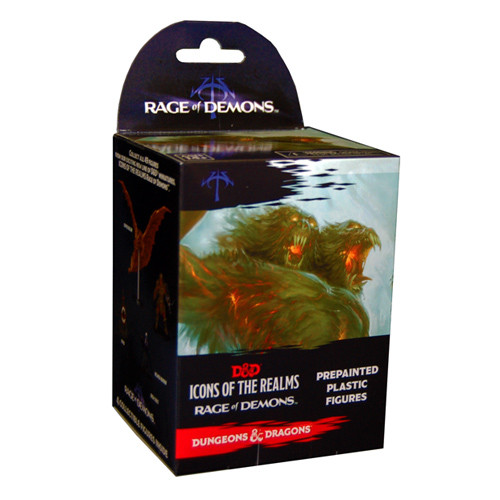 Dungeons & Dragons Fantasy Miniatures: Rage of Demons - Booster Pack