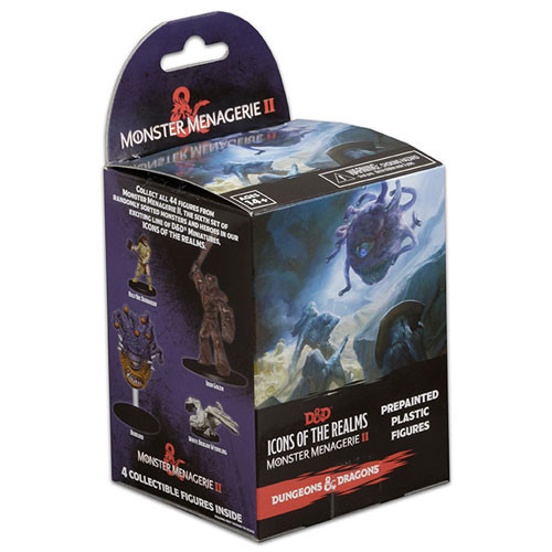 Dungeons & Dragons Fantasy Miniatures: Monster Menagerie 2 - Booster Pack