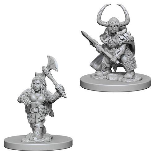Dwarf Female Wizard 739W080817 Nolzur/'s D/&D Dungeons /& Dragons Wizkids