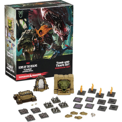 Dungeons & Dragons Fantasy Miniatures: Tomb of Annihilation - Tombs & Traps Premium Set