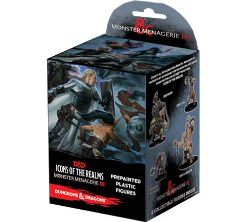 D&D Icons of the Realms Miniatures: Monster Menagerie 3 - Booster Pack