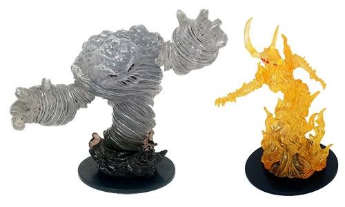 Pathfinder Battles: Fire Elemental Lord & Air Elemental Lord