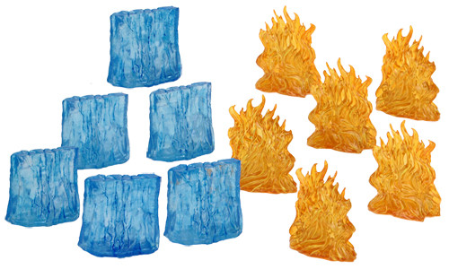 D&D Spell Effects: Wall of Fire & Wall of Ice