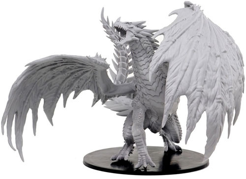 Pathfinder Battles Deep Cuts Miniatures: Gargantuan Red Dragon (1