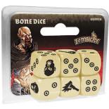 Zombicide: Black Plague - Bone Dice Set (6)