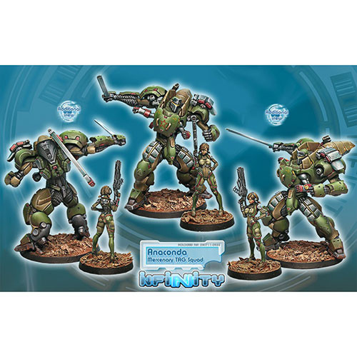 Infinity - Mercenaries: Anaconda TAG Squad (NewArrival)