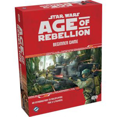 Star Wars: Age of Rebellion RPG - Beginner Game (NewArrival)