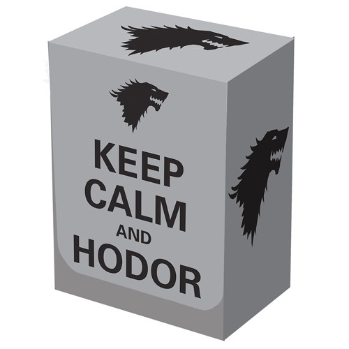 Legion Deck Box - Keep Calm and Hodor (NewArrival)