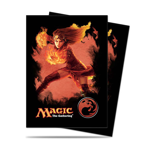 Ultra Pro Card Sleeves - Magic The Gathering: Chandra Planeswalker (80) (NewArrival)