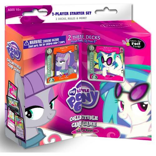 My Little Pony CCG: Rock 'N Rave - 2-Player Starter Set (The Drop)