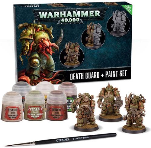 Warhammer 40K: Intercessors + Paint Set | Table Top Miniatures