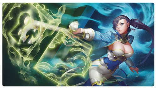 HCD Supplies Playmat: Astral Gatekeeper (Clearance) (The Drop)