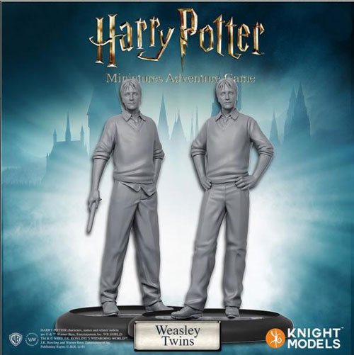 Harry Potter Miniatures Game: Weasly Twins (The Drop)