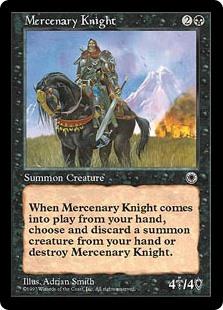 MERCENARIES Magic ICE Mint Magic: The Gathering, MTG) MERCENARI