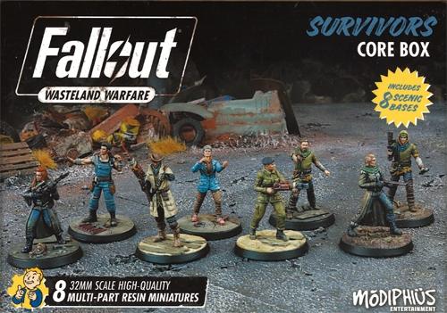 Fallout: Wasteland Warfare - Brotherhood of Steel Core Box | Table