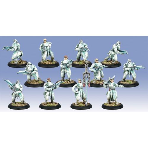 Warmachine: Retribution - Dawnguard Invictors Unit (12) (The Drop)