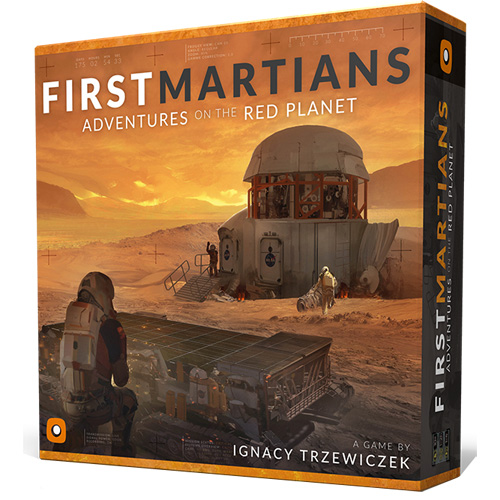 First Martians: Adventures on the Red Planet (Clearance) (The Drop)