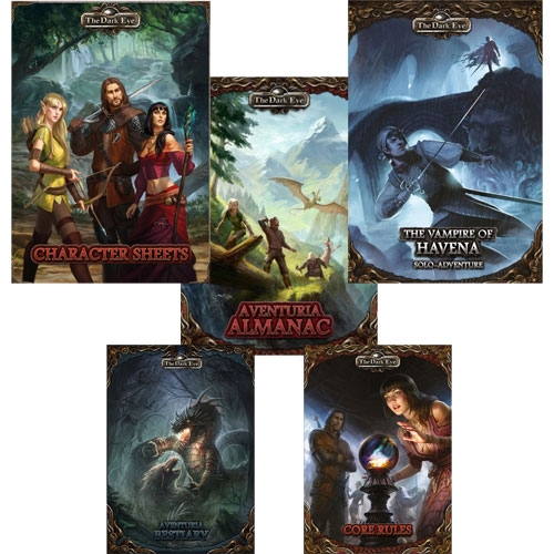 The Dark Eye RPG: Essential Player Bundle (The Drop)