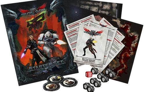 Warhammer 40K Wrath & Glory RPG: Starter Set (The Drop)