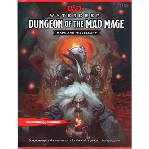 D&D 5th Edition RPG: Waterdeep - Dungeon of the Mad Mage DM