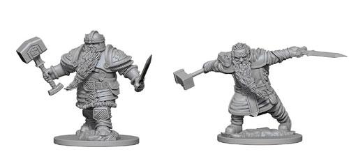 Dd Nolzurs Marvelous Unpainted Miniatures Dwarf Male Fighter 2