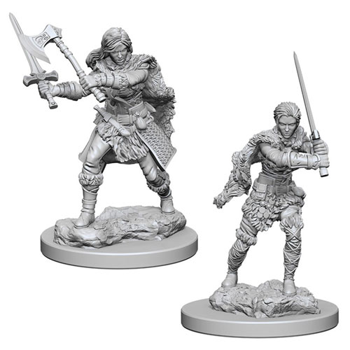 D&D Nolzur's Marvelous Unpainted Miniatures: Human Male Barbarian (2