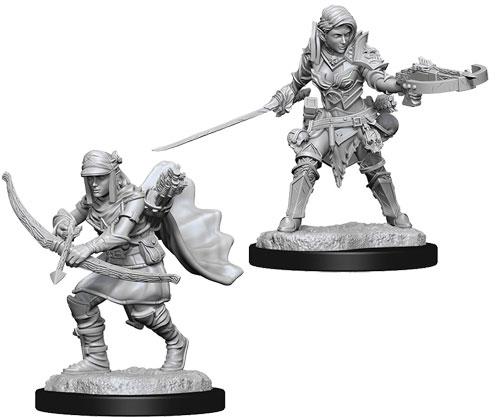Pathfinder Battles Deep Cuts Miniatures: Male Half-Elf