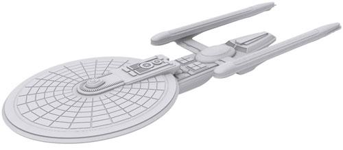 Star Trek Deep Cuts Unpainted Ships: Excelsior Class (The Drop)