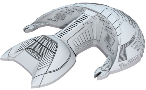 Star Trek Deep Cuts Unpainted Ships: D'Kora Class (The Drop)