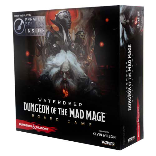 D&D Waterdeep: Dungeon of the Mad Mage Board Game (Premium Edition) (The Drop)