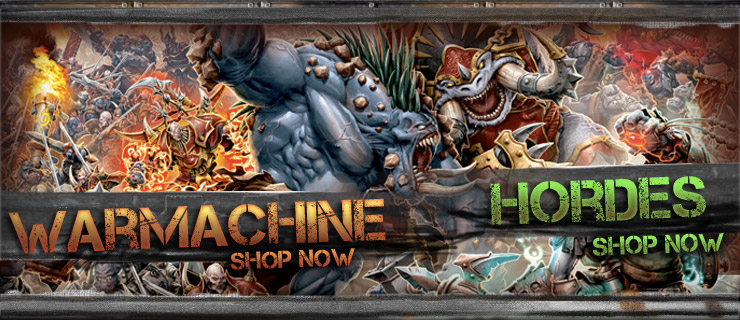Warmachine and Hordes Discounted at Miniature Market