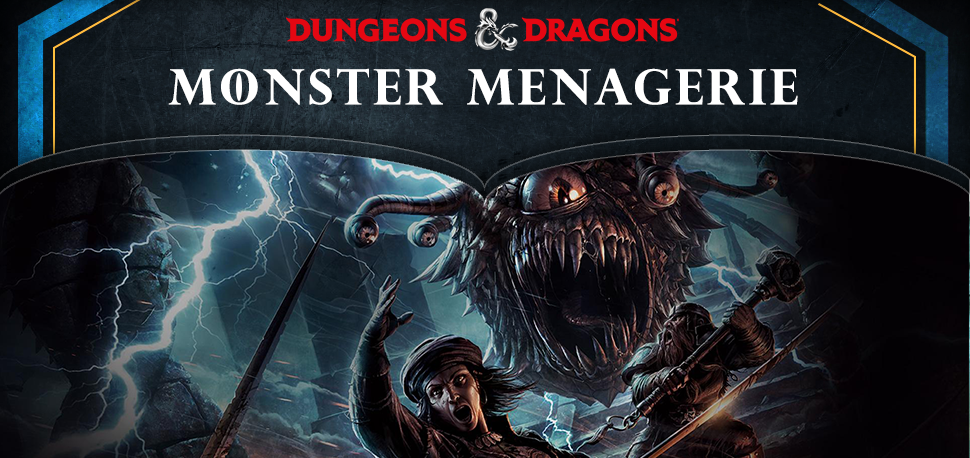 Monster Menagerie - Dungeons and Dragons - Collectible Miniatures
