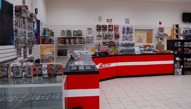 Miniature Market Retail Store